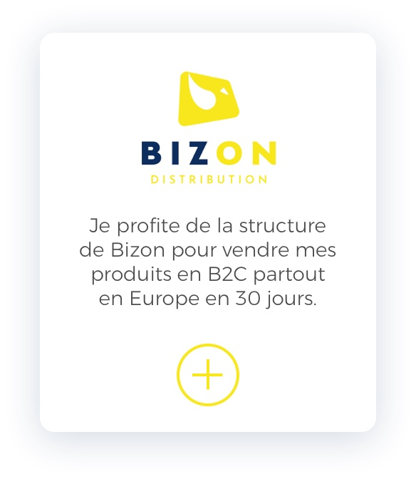 Bizon Distribution Mobile Slider